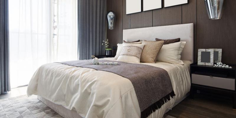 bed bug-free hotel room